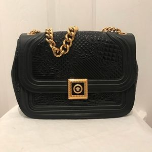 Versace Authentic Icon and Quilted Patent Handbag